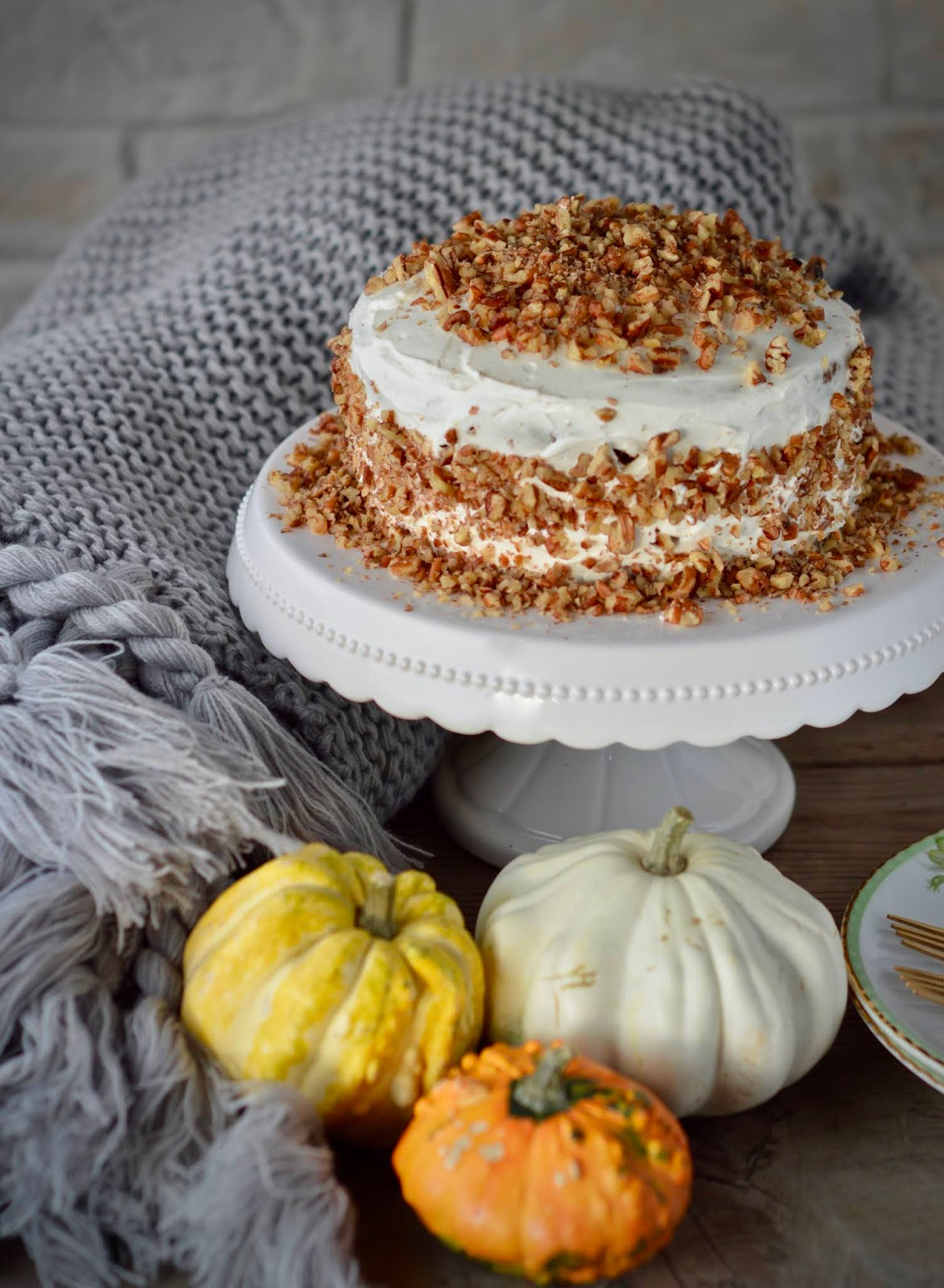 AMERICAN CARROT CAKE (HEALTHY & GLUTENFREE VERSION)