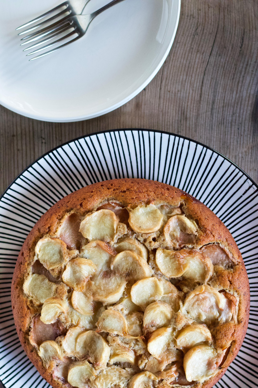 TORTA SOFFICE CON PESCHE TABACCHIERE (senza glutine, senza lattosio)
